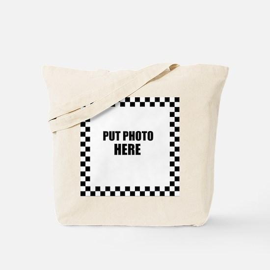 Put Photo Here Tote Bag