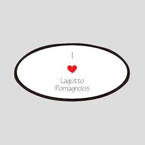 I love Lagotto Romagnolos Patch