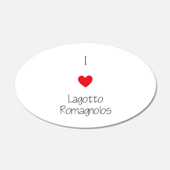 I love Lagotto Romagnolos Wall Decal