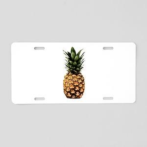 PineYapple Aluminum License Plate