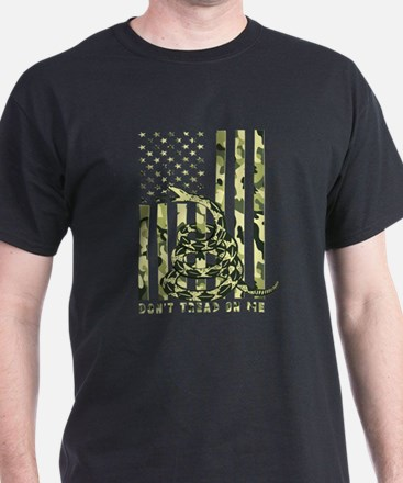 Unique Dont tread on me flags T-Shirt