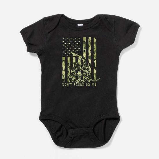 Cute Dont tread on me Baby Bodysuit