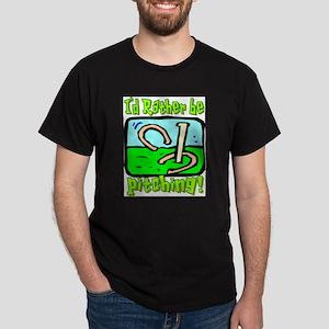 Horseshoe Pitching Ash Grey T-Shirt