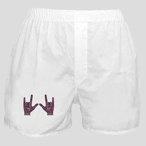 Love Rocks Boxer Shorts