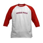 Wicked Pissa Kids Baseball Jersey