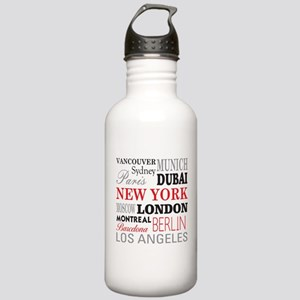 Cities of the World Stainless Water Bottle 1.0L