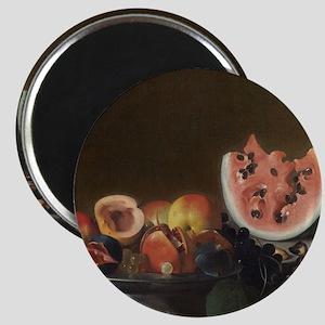 Still Life With Fruit, del Saracini Magnet