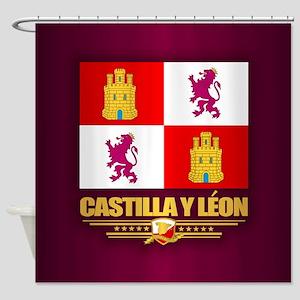 Castilla Y Leon Shower Curtain