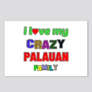 I love my crazy Palauan f Postcards (Package of 8)
