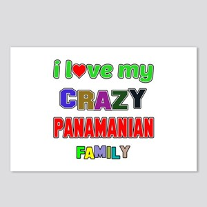 I love my crazy Panamania Postcards (Package of 8)