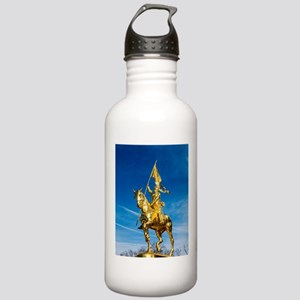 Golden lady on a golde Stainless Water Bottle 1.0L