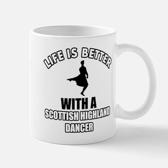 Scottish Dancer Designs Mug