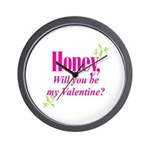 Valentine's Day Gifts Wall Clock