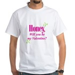 Valentine's Day Gifts White T-Shirt