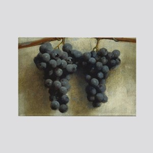 Grapes by Joseph Decker Rectangle Magnet