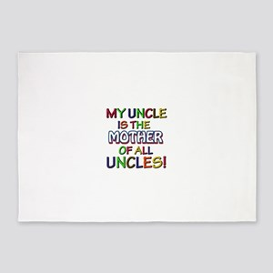 Funny Uncle family designs 5'x7'Area Rug