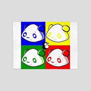 Warhole Pandas 5'x7'Area Rug