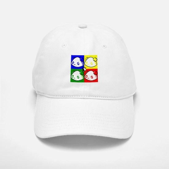 Warhole Pandas Baseball Baseball Baseball Cap