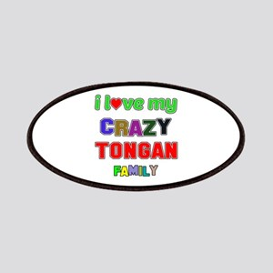 I love my crazy Tongan family Patch