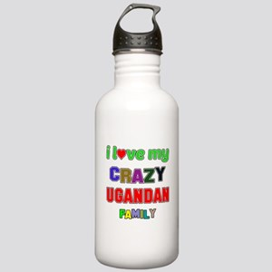I love my crazy Uganda Stainless Water Bottle 1.0L
