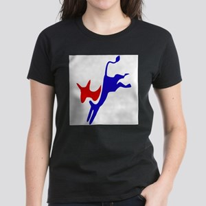 Democratic Party Donkey (Jackass) Ash Grey T-Shirt