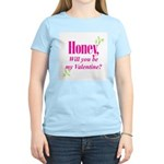 Valentine's Day Gifts Women's Pink T-Shirt