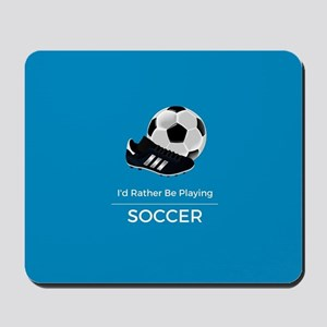 Soccer Quote Mousepad