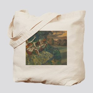 Four Dancers by Edgar Degas Tote Bag