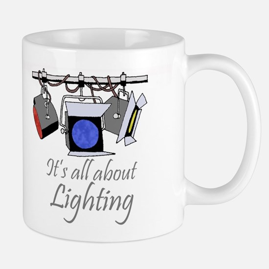 It's All About Lighting Coffee Mug Mugs