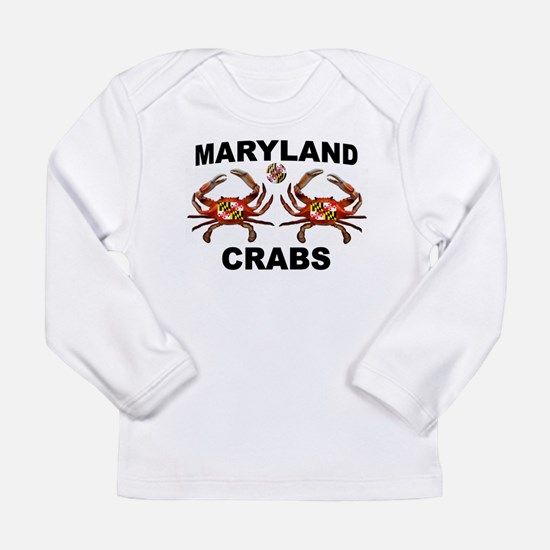 MARYLAND CRABS Long Sleeve T-Shirt