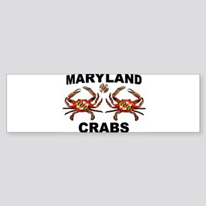 MARYLAND CRABS Bumper Sticker
