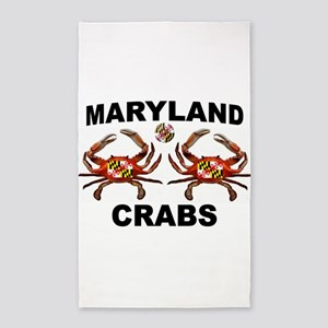 MARYLAND CRABS Area Rug