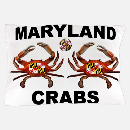 MARYLAND CRABS Pillow Case