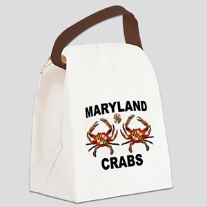 MARYLAND CRABS Canvas Lunch Bag