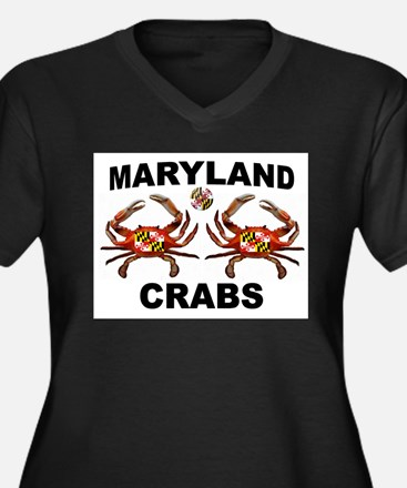 MARYLAND CRABS Plus Size T-Shirt