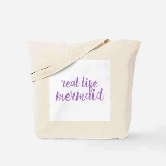 real life mermaid Tote Bag