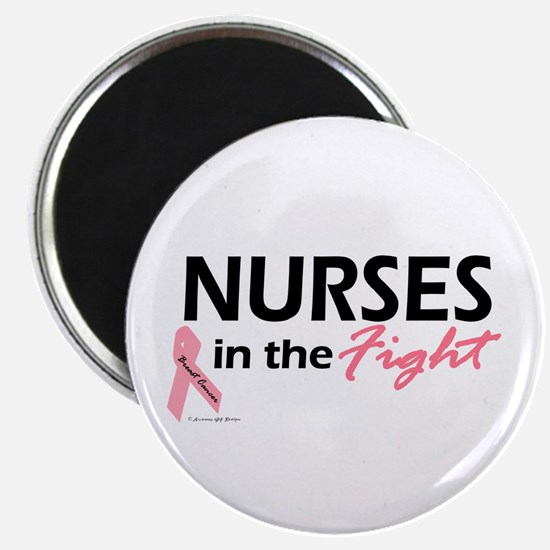 """Nurses In The Fight 2.25"""" Magnet (100 pack)"""