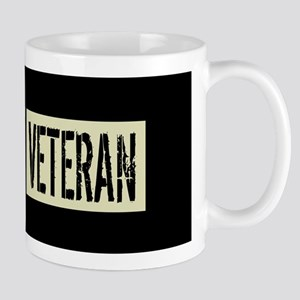 British Military: Veteran (Black Flag) Mug
