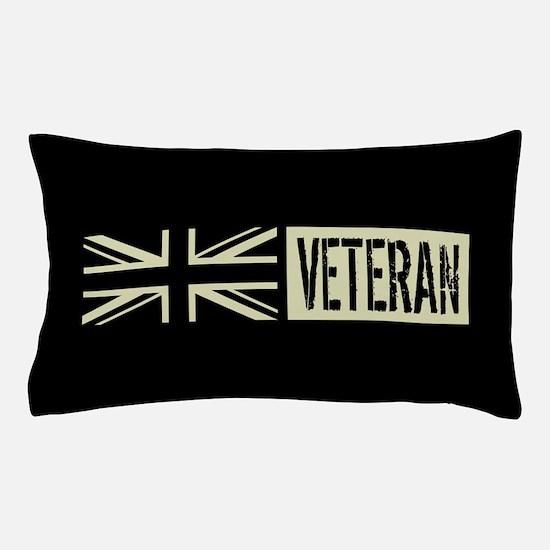 British Military: Veteran (Black Flag) Pillow Case