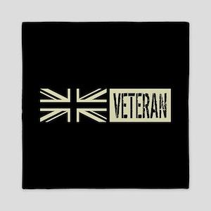 British Military: Veteran (Black Flag) Queen Duvet