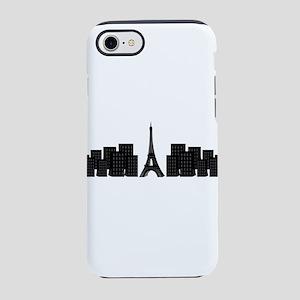 skyline paris iPhone 8/7 Tough Case