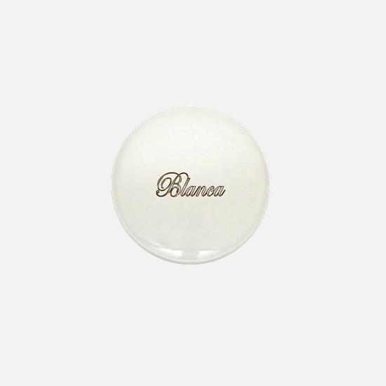 Cool Blanca Mini Button