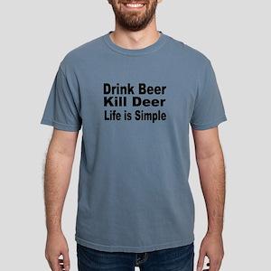 Life is Simple Mens Comfort Colors Shirt