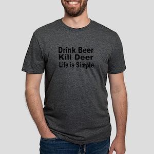 Life is Simple Mens Tri-blend T-Shirt