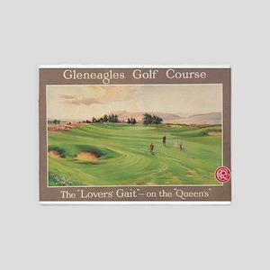 Gleneagles Golf Club, Scotland; Vin 5'x7'Area Rug