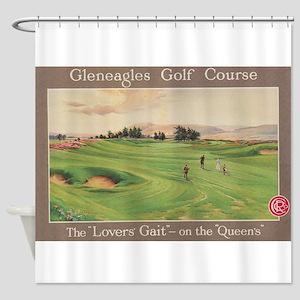 Gleneagles Golf Club, Scotland; Vin Shower Curtain