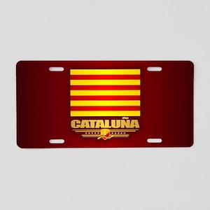 Cataluna Aluminum License Plate