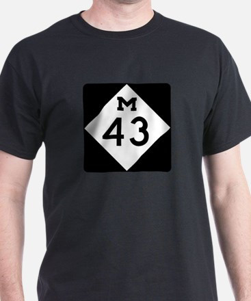 M-43, Michigan T-Shirt