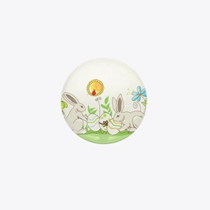 Easter Bunny Mini Button