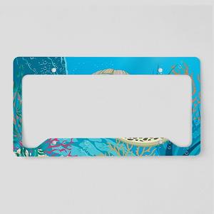 Sea Turtle License Plate Holder